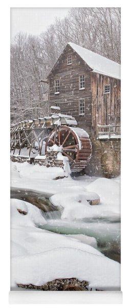 Snowglade Creek Grist Mill Yoga Mat