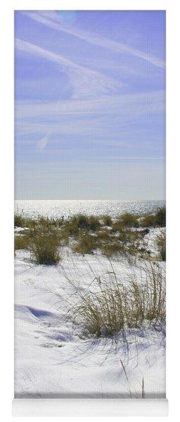 Snowy Dunes Yoga Mat