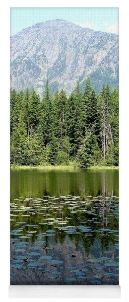 Snyder Lake Reflection Yoga Mat