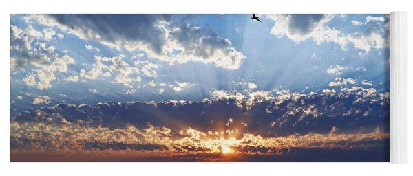 Soaring Sunset Yoga Mat