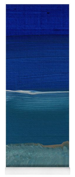 Soft Crashing Waves- Abstract Landscape Yoga Mat