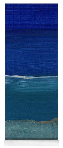 Soft Crashing Waves- Abstract Landscape Yoga Mat