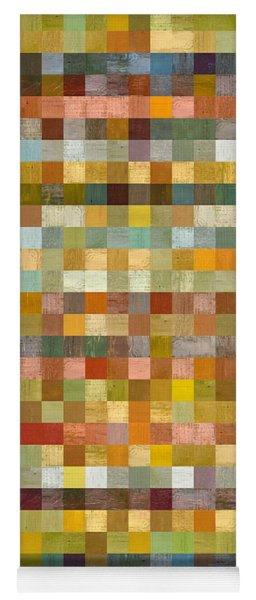 Soft Palette Rustic Wood Series Collage L Yoga Mat