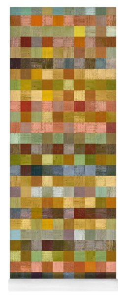 Soft Palette Rustic Wood Series Collage Ll Yoga Mat