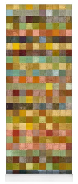 Soft Palette Rustic Wood Series Collage Lll Yoga Mat