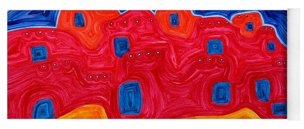 Soft Pueblo Original Painting Yoga Mat