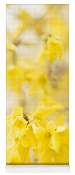 Softly Yellow Yoga Mat