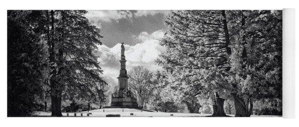 Soldiers National Cemetery - Gettysburg Yoga Mat