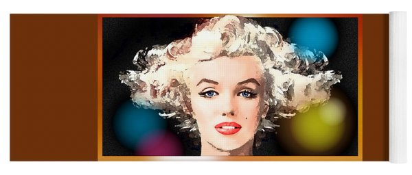 Marilyn - Some Like It Hot Yoga Mat