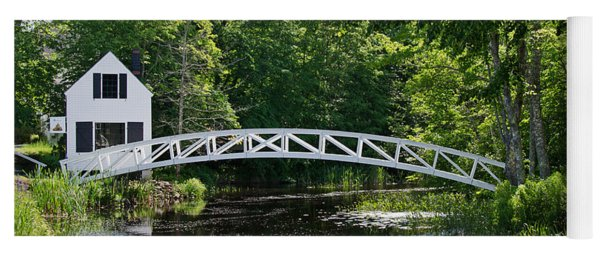 Somesville Bridge Yoga Mat