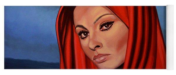 Sophia Loren 2  Yoga Mat