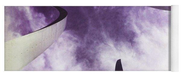 Soul In The Sky - Us Air Force Memorial Yoga Mat
