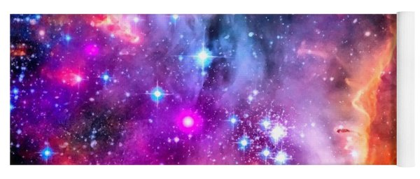 Space Image Small Magellanic Cloud Smc Galaxy Yoga Mat