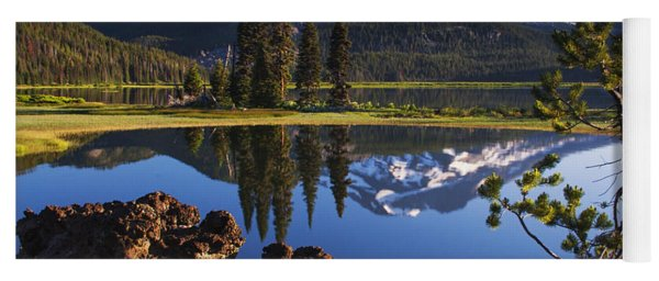 Sparks Lake Sunrise Yoga Mat