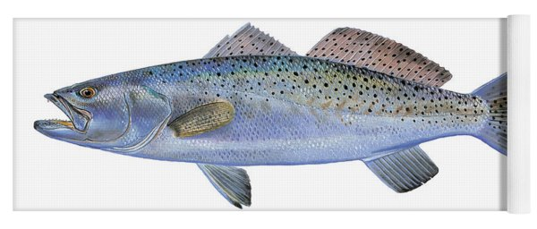Speckled Trout Yoga Mat