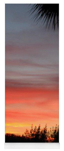 Spectacular Sky View Yoga Mat