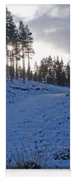 Speyside Way - Early Winter Yoga Mat