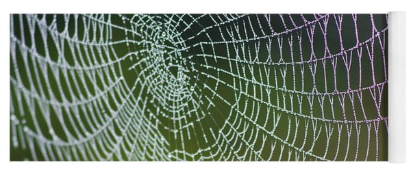 Spider Web Yoga Mat