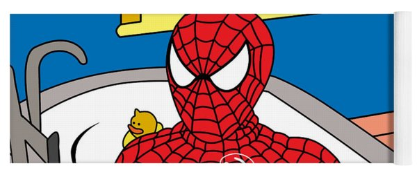 Spiderman  Yoga Mat