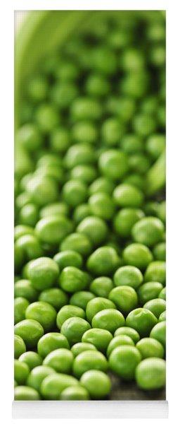 Spilled Bowl Of Green Peas Yoga Mat