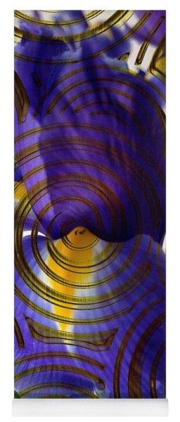Spiral Iris Yoga Mat