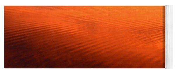 Splash Of Sunset  Yoga Mat