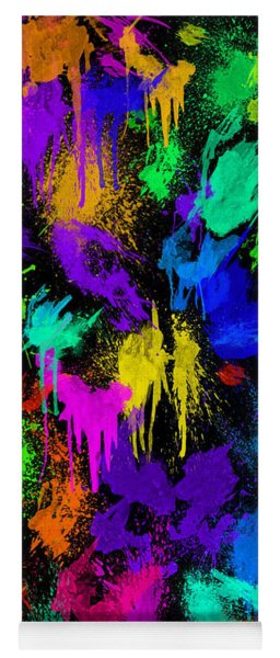 Splattered One Yoga Mat