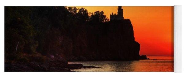 Split Rock Lighthouse - Sunrise Yoga Mat