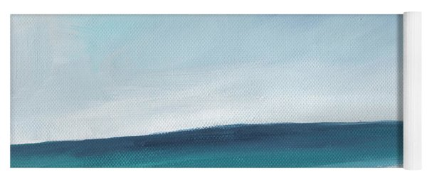 Spring Beach- Contemporary Abstract Landscape Yoga Mat