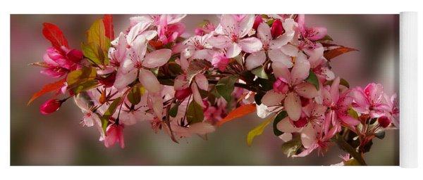 Cheery Cherry Blossoms Yoga Mat