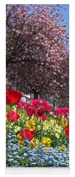 Spring Flowers - Edinburgh Yoga Mat