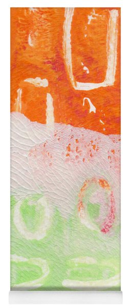 Spring Flower Market- Abstract Painting Yoga Mat