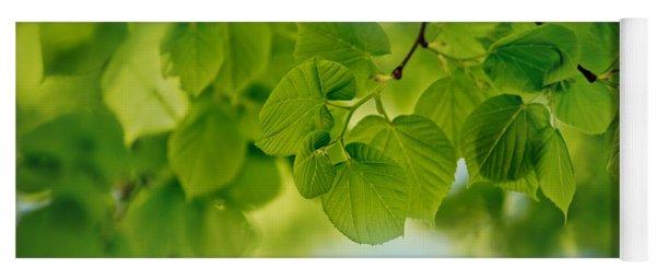 Spring Green Yoga Mat