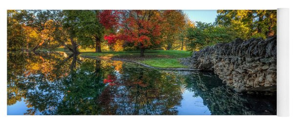 Spring Grove In The Fall Yoga Mat