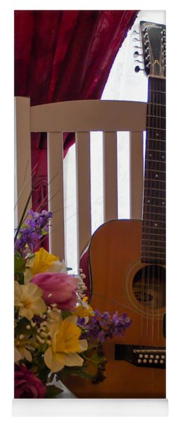 Spring Guitar Yoga Mat