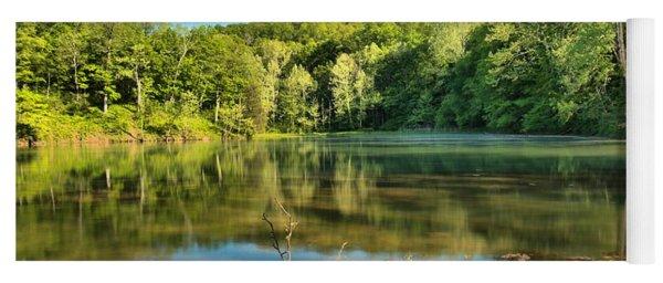 Spring Mill Lake Yoga Mat