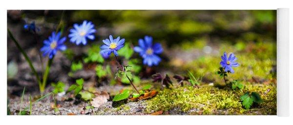 Spring Wild Flowers Yoga Mat