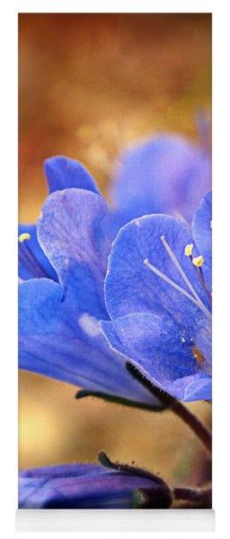 Spring Wildflowers - The Desert Bluebells Yoga Mat
