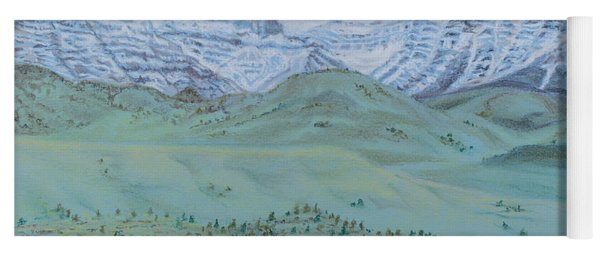 Springtime In The Rockies Yoga Mat