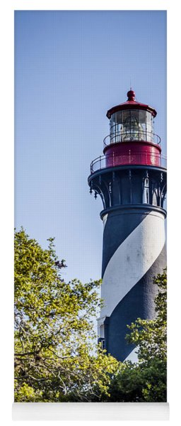 St. Augustine Lighthouse Yoga Mat
