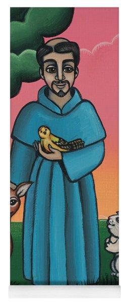 St. Francis Animal Saint Yoga Mat