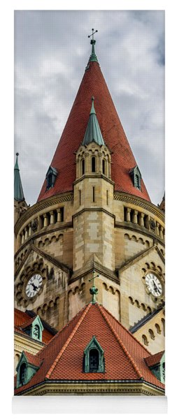 St. Francis Of Assisi Church In Vienna Yoga Mat