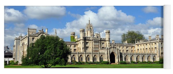 St. John's College Cambridge Yoga Mat