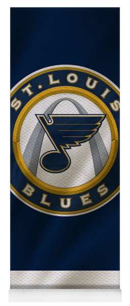 St Louis Blues Uniform Yoga Mat