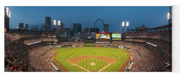 St. Louis Cardinals Busch Stadium Pano 5 Yoga Mat