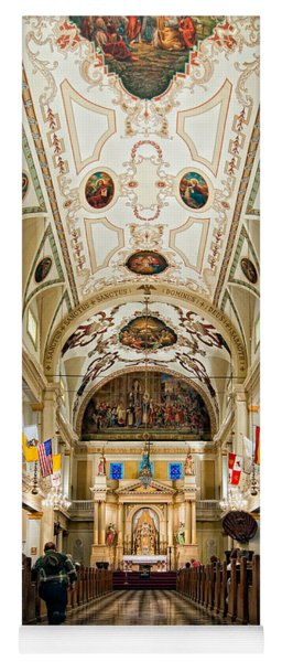 St. Louis Cathedral Yoga Mat