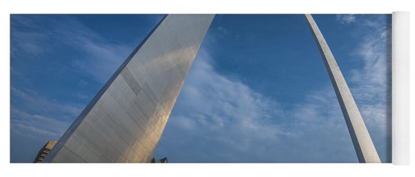 St. Louis Gateway Arch Sunrise Yoga Mat