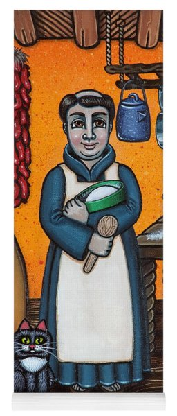 St. Pascual Making Bread Yoga Mat