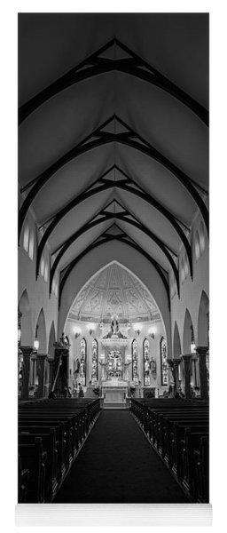 St Patricks Cathedral Fort Worth Yoga Mat