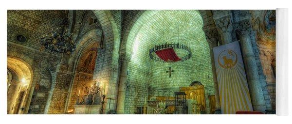 St Pere De Puelles Church - Barcelona Yoga Mat